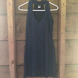 Vintage Blue Shimmer Dress Size M